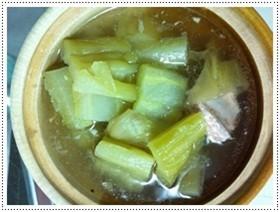 ต้มมะระผักกาดดอง